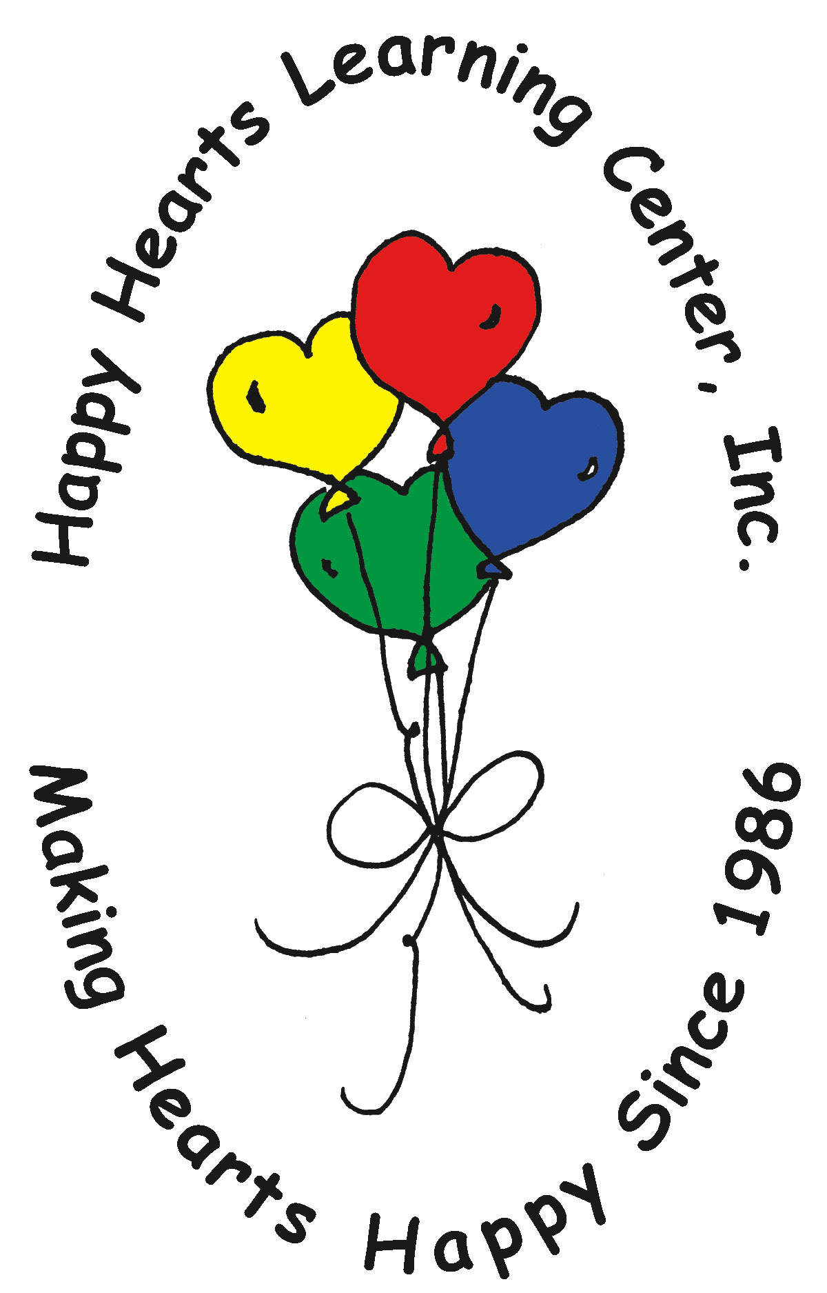 Happy Hearts Learning Center Logo